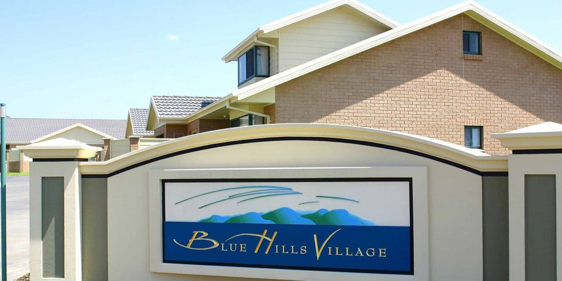 Blue hills retirement village richard crookes constructions for How to build a retirement home