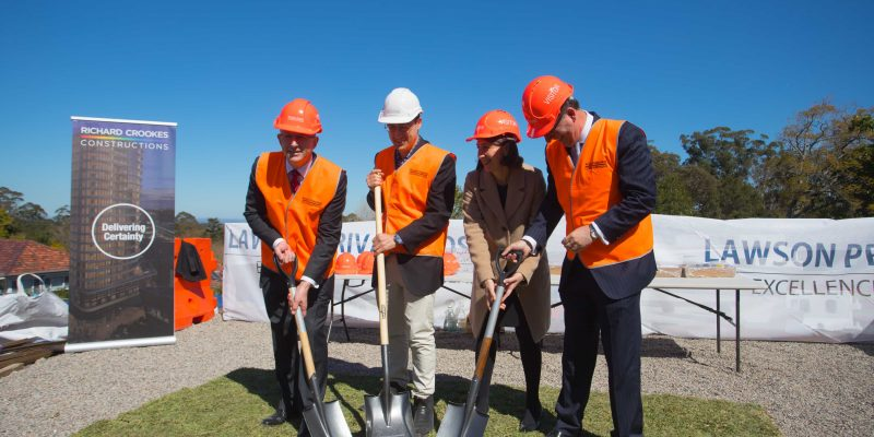 Lawson Clinic Sod Turning Ceremony